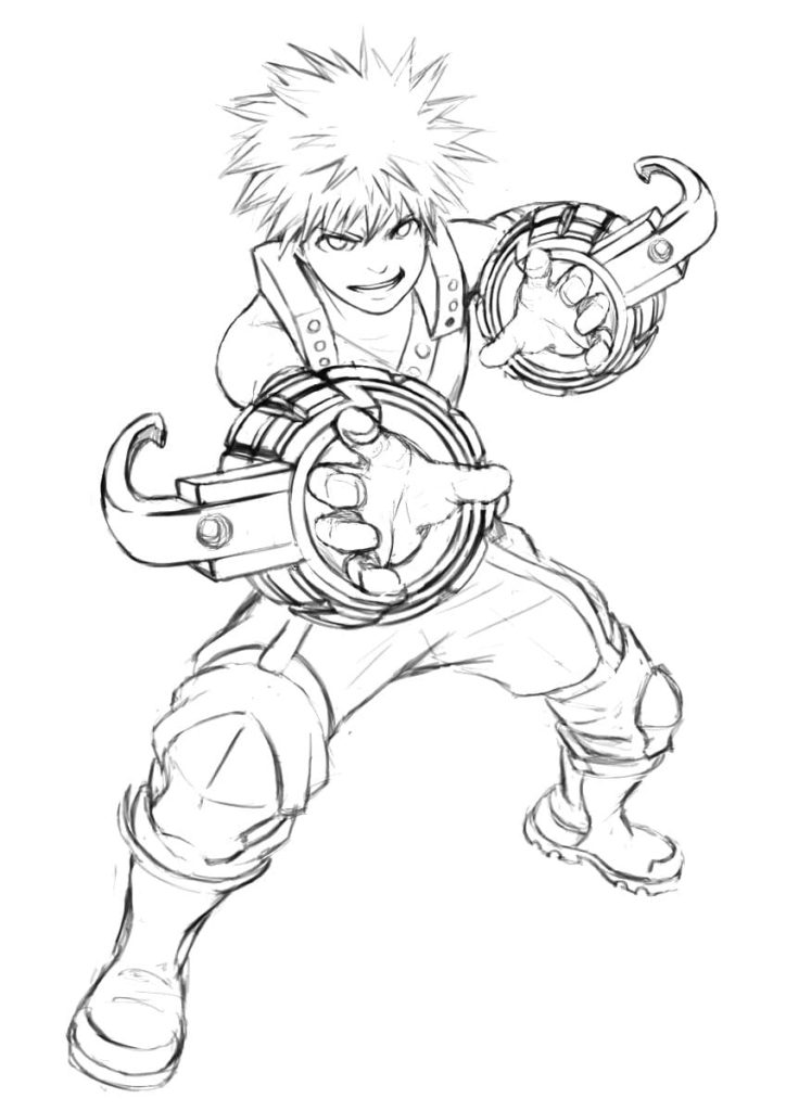 My Hero Academia Coloring Pages 100 Free Coloring Pages