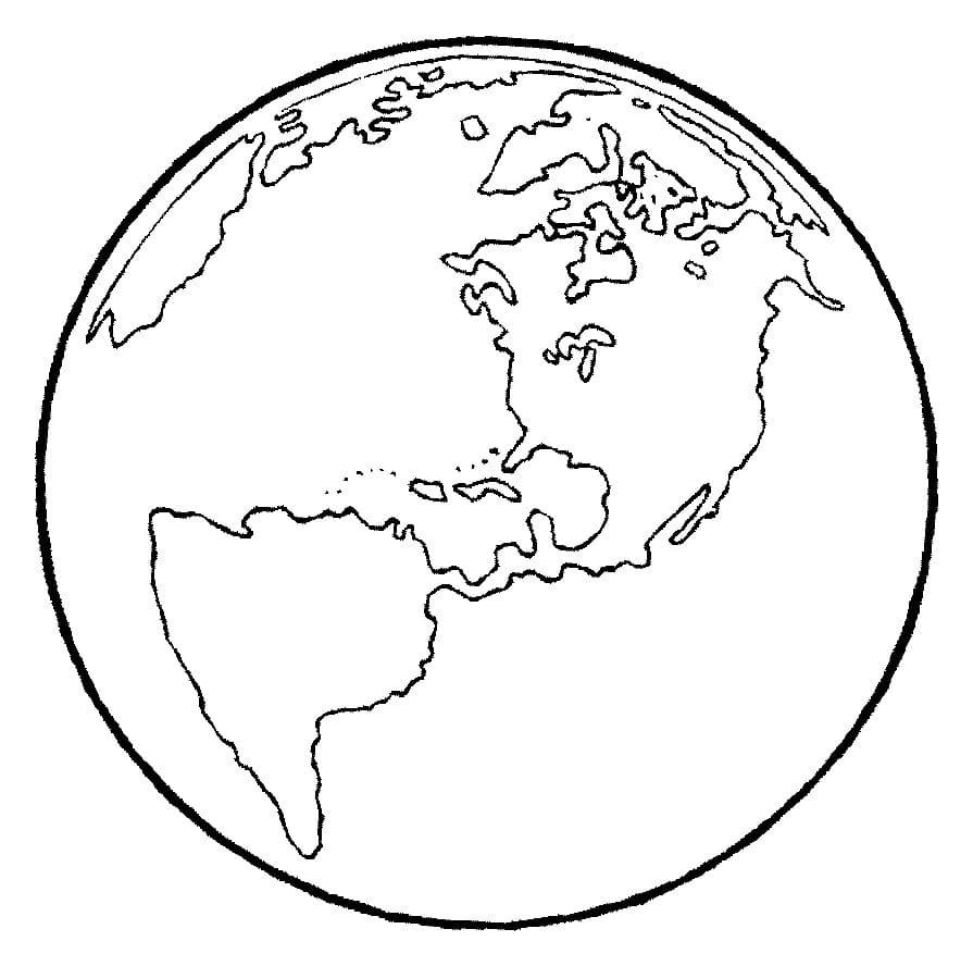 Ausmalbilder Planeten (28 Stück). Drucken Sie kostenlos für Kinder