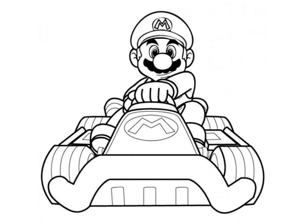100 Disegni Di Super Mario Bros Da Colorare Per La Stampa Gratuita