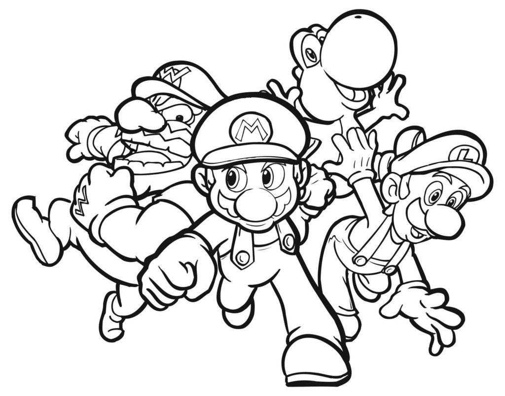 22 Ausmalbilder Mario zum kostenlosen Ausdrucken