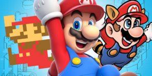 100 Desenhos de Super Mario para Colorir