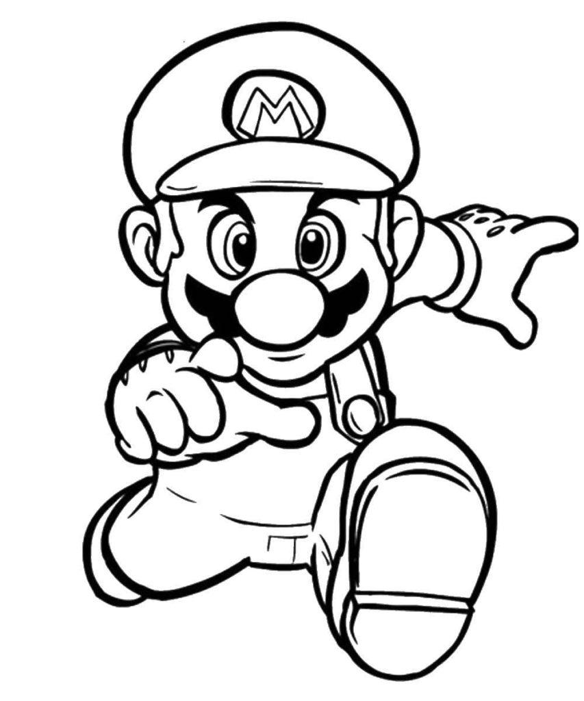 29 Ausmalbilder Mario zum kostenlosen Ausdrucken