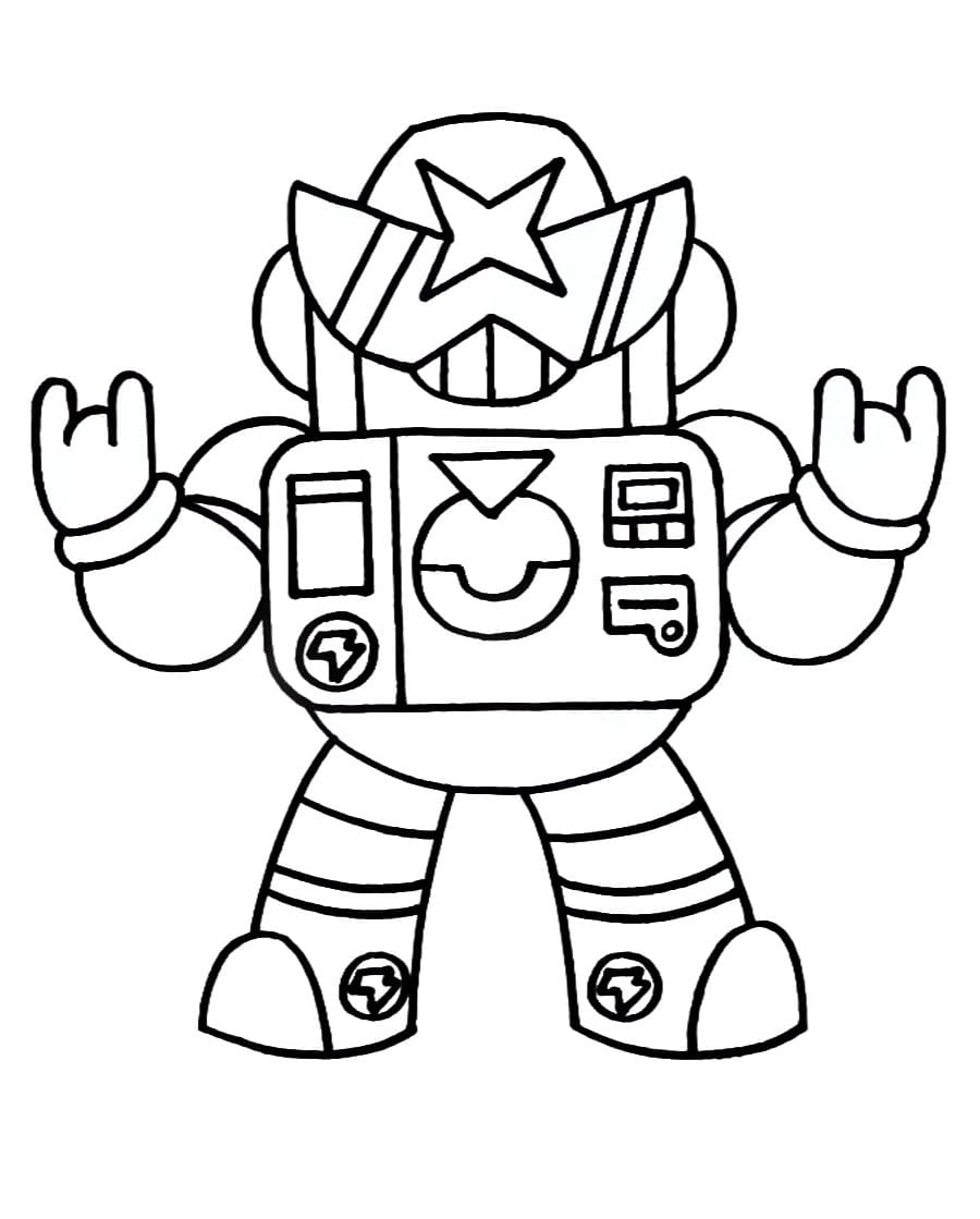 coloring pages surge brawl stars download and print for free