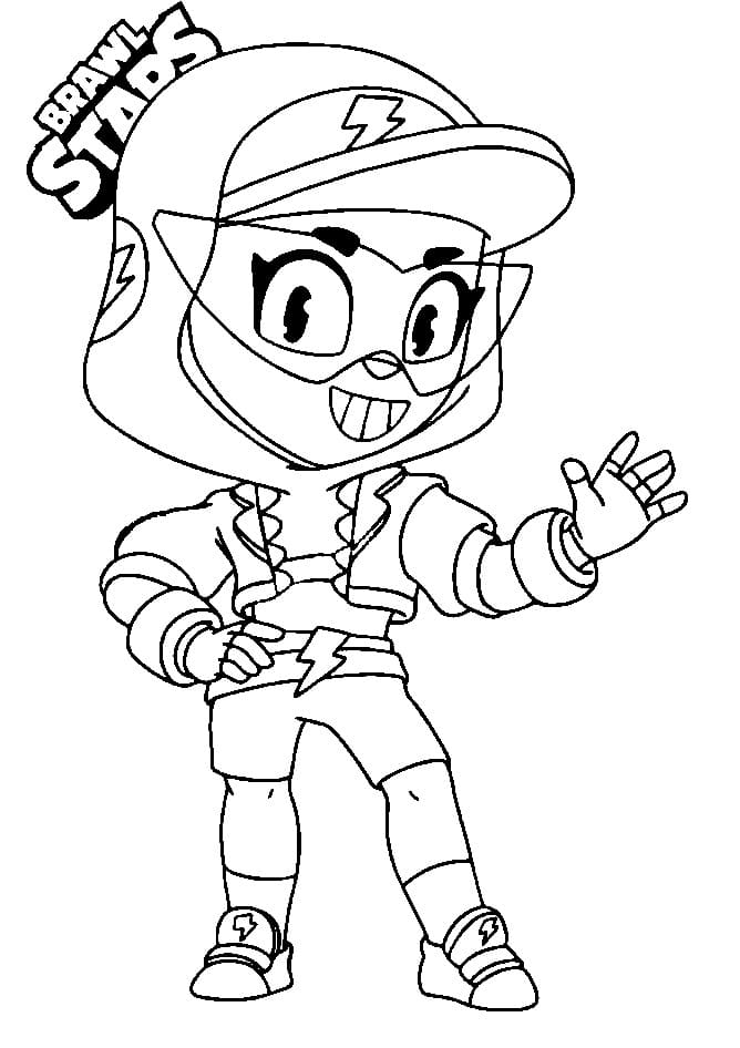 Coloriages Max Brawl Stars