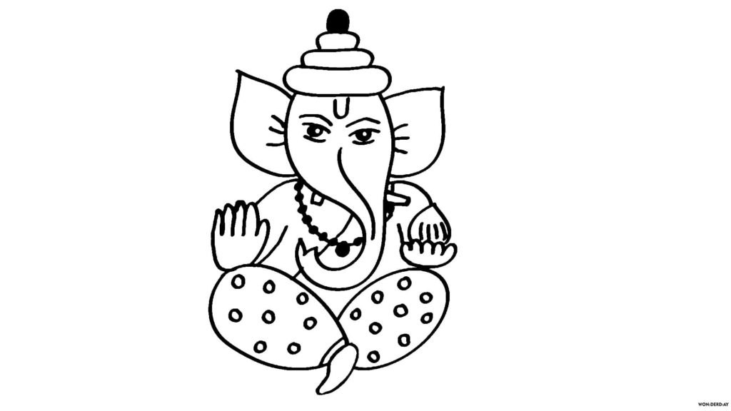How To Draw Ganesha 20 Pencil Drawing Lessons Wonder Day