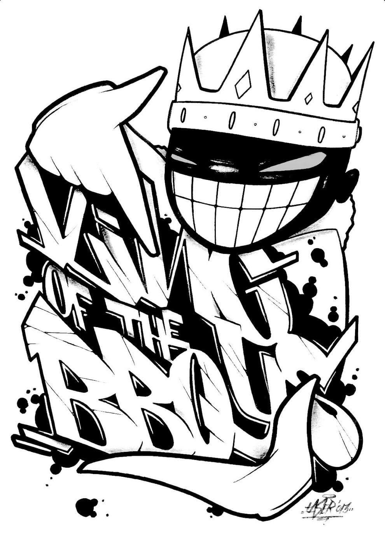 ausmalbilder graffiti beste ausmalbilder zum drucken