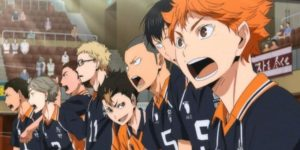 Coloring pages Haikyuu!! Print for free