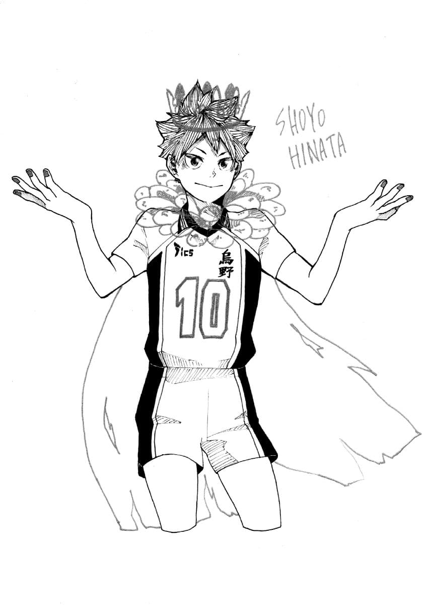 Coloring Pages Haikyuu Print For Free Wonder Day