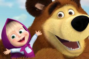 Раскраски Маша и Медведь. 100 Лучших раскрасок для печати