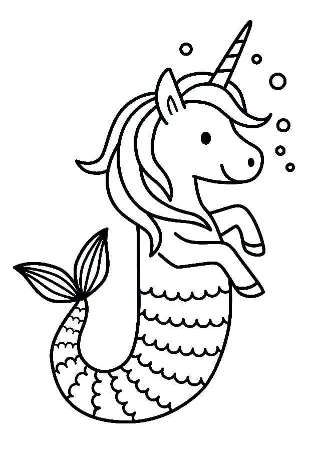 Mermaid Coloring Pages. 120 Images to Print