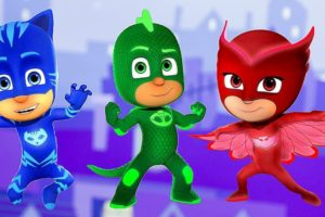 PJ Masks coloring pages. Print for free