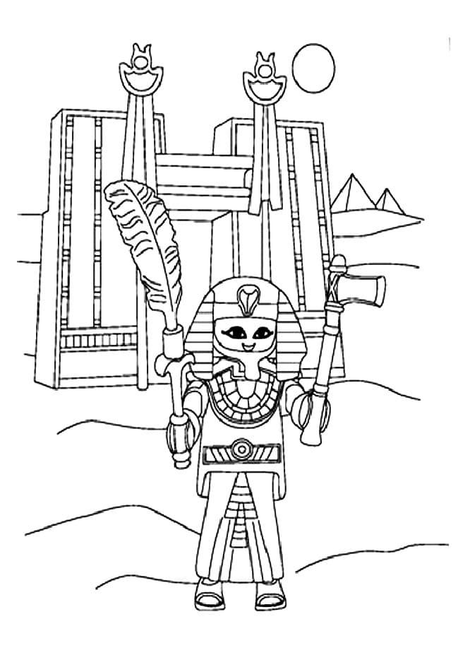 Playmobil Coloring Pages. 100 Printable Images for Free