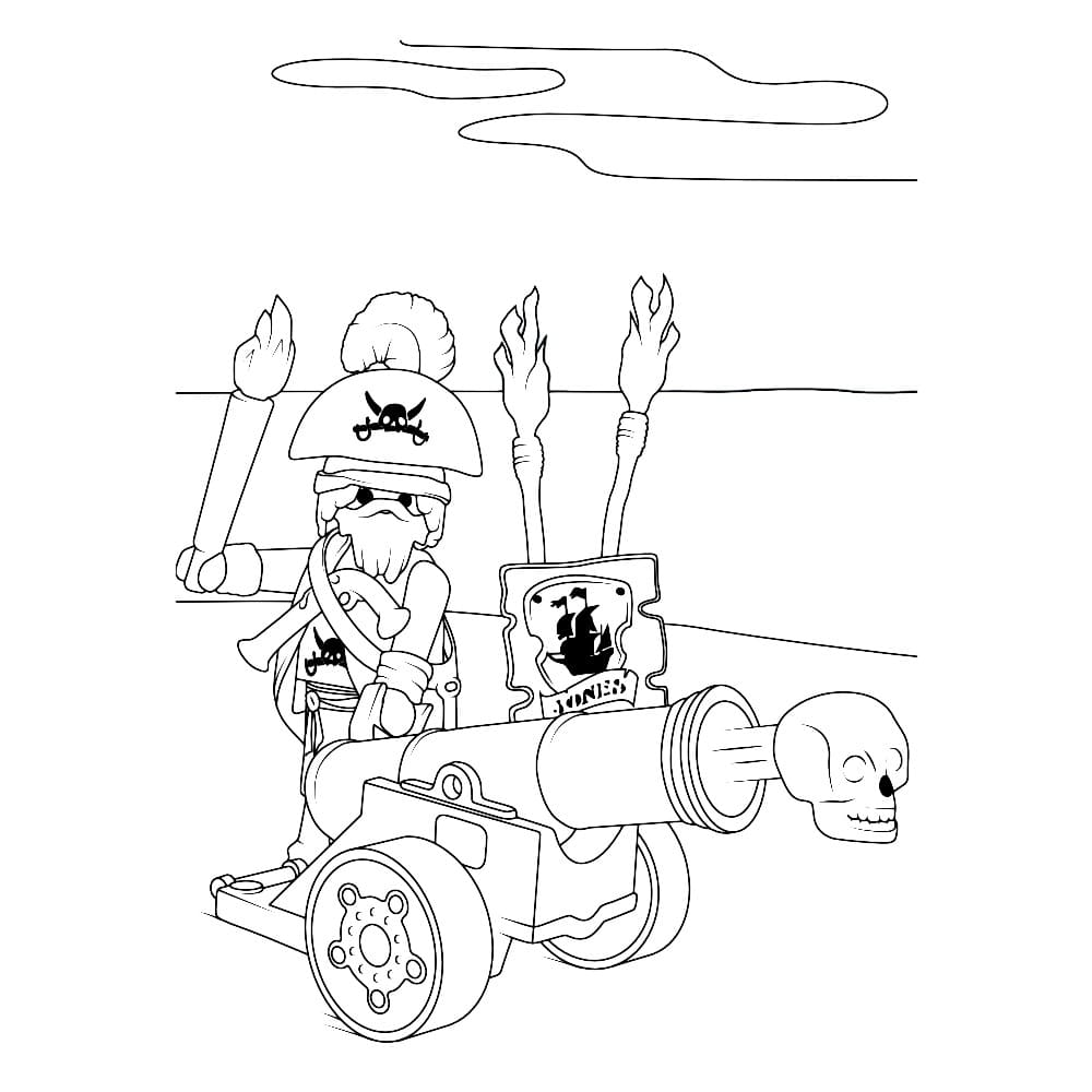 Playmobil Coloring Pages. 9 Printable Images for Free
