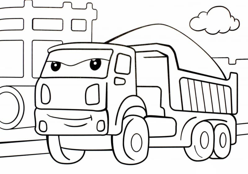 Coloring Pages for Kids 4 Years Old Free Printable
