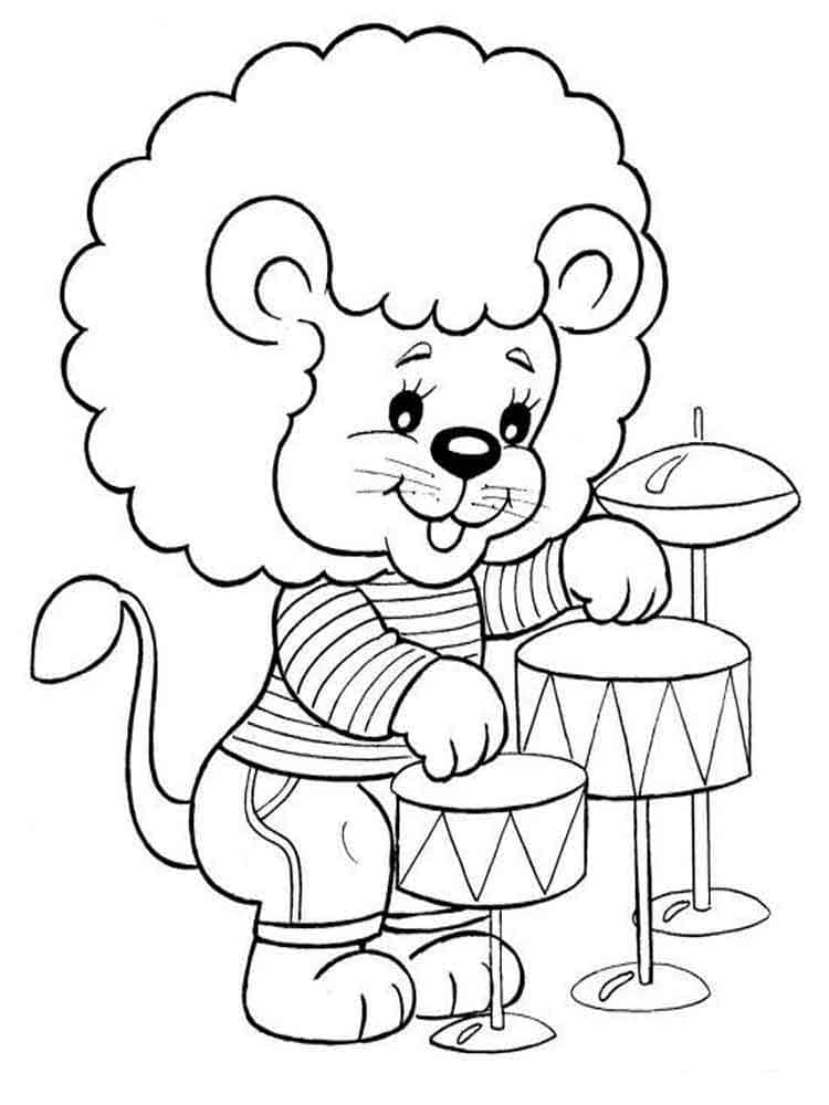 Printable Coloring Pages For Kids 5 Year Olds WONDER DAY