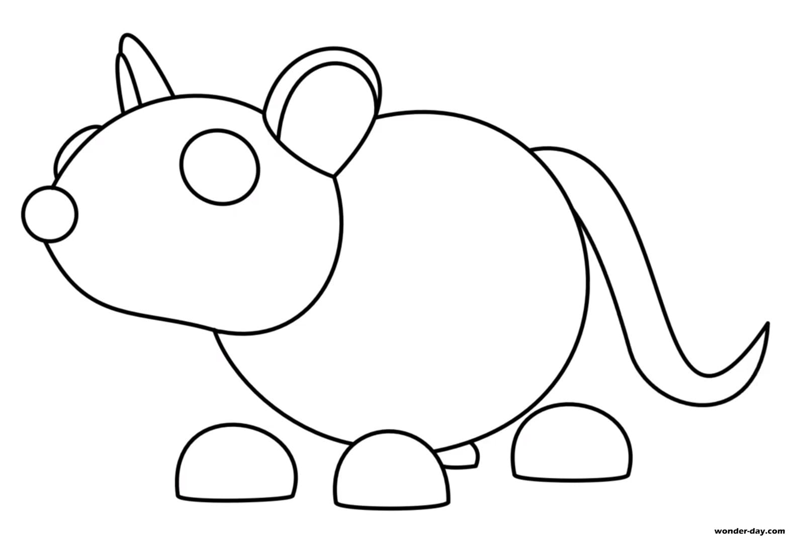 Coloring Pages Adopt Me Print For Free Wonder Day Com ...