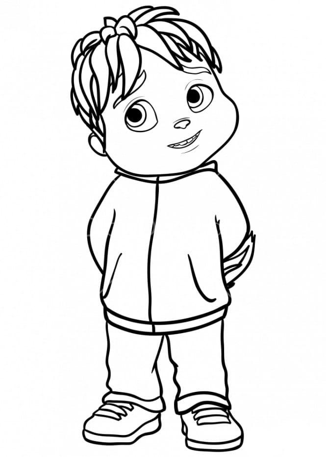 Ausmalbilder Alvin Und Die Chipmunks Zum Drucken