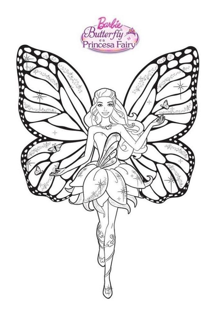 Barbie Coloring Pages. Print For Girls WONDER DAY — Coloring Pages For  Children And Adults