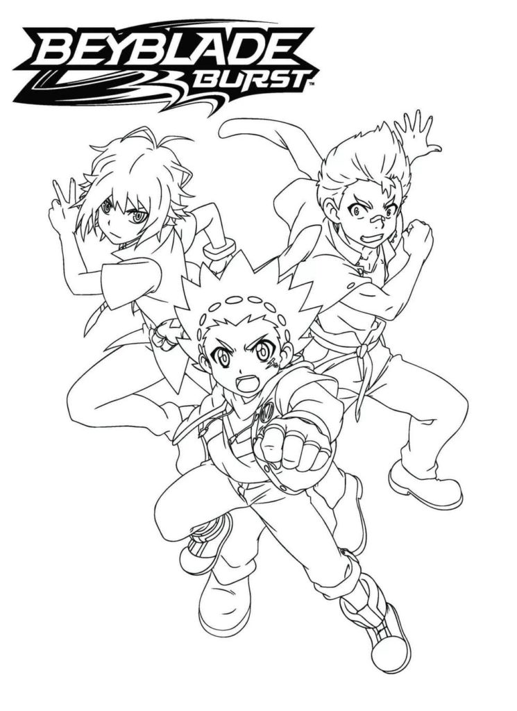 Beyblade Coloring Pages Top 100 Images For Printing