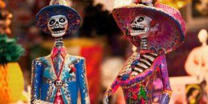 Dibujos de El Día de Muertos para Colorear. Gran colección 2020