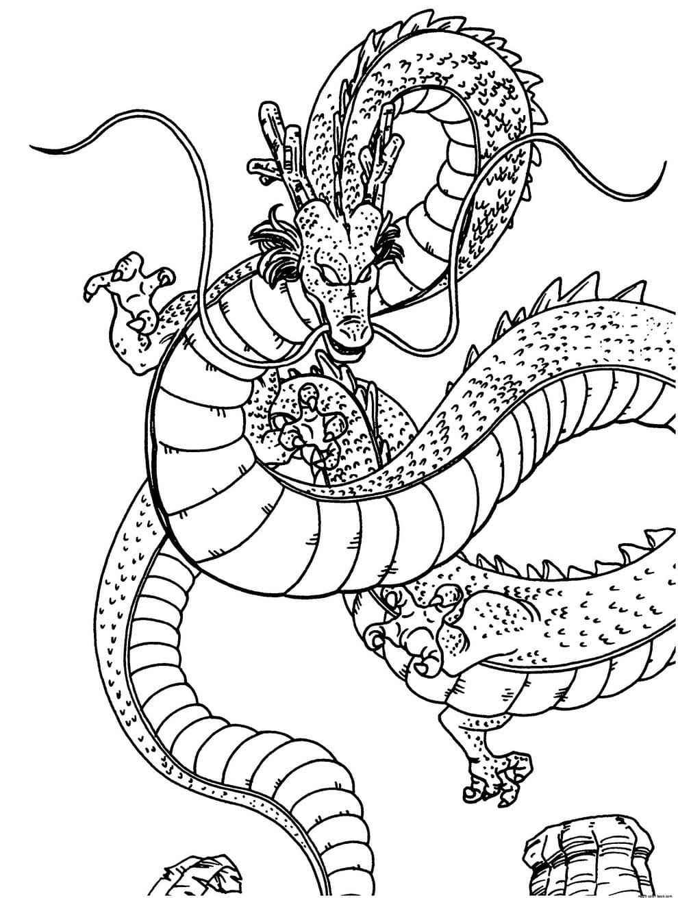 ausmalbilder dragon ball z malvorlagen zum ausdrucken