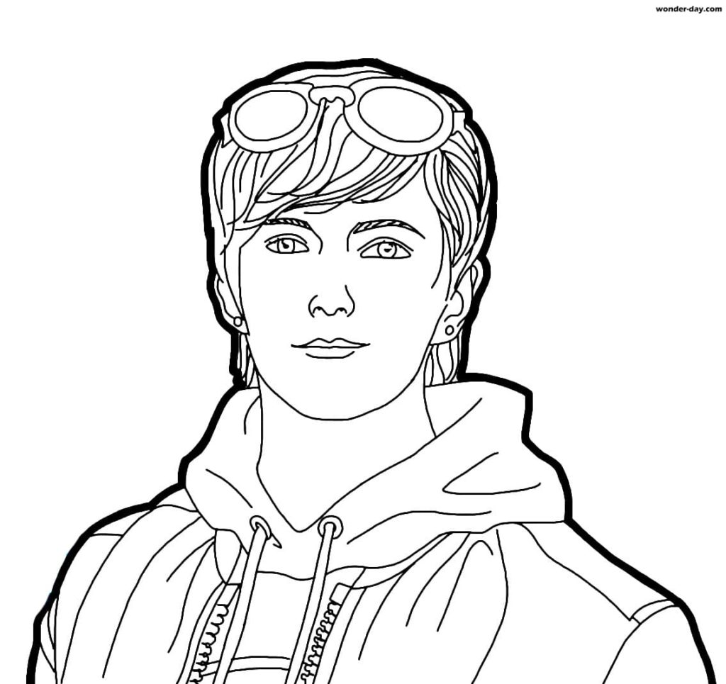 Free Fire coloring pages. Print for free in A4 format