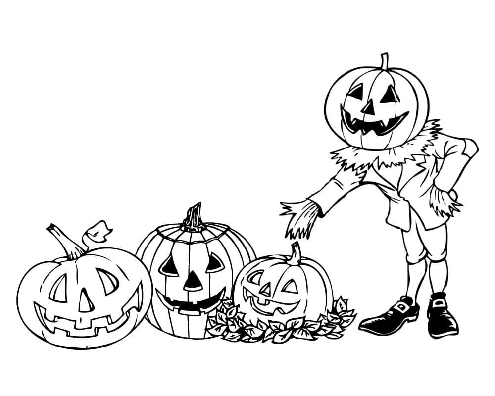 Ausmalbilder Halloween. 13 Ausmalbilder zum Drucken