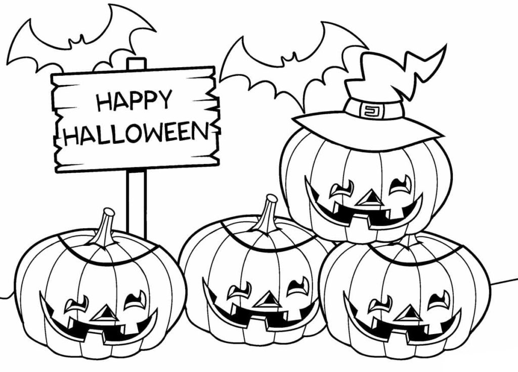 Halloween Coloring Pages. 130 Printable Coloring Pages
