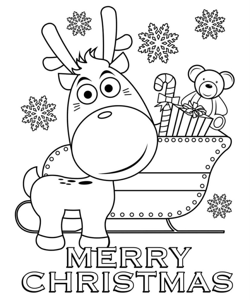 Christmas Coloring Pages 200 Printable Coloring Pages