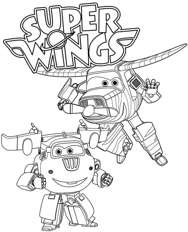 Super Wings Coloring Pages Print For Kids Wonder Day Coloring Pages For Children And Adults