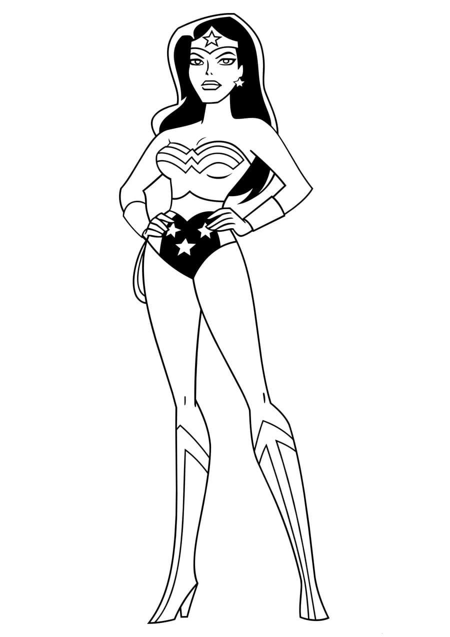 Wonderwoman Bestraft