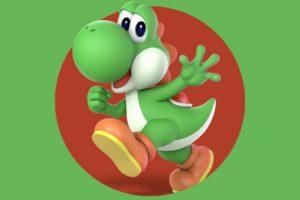 Yoshi Coloring Pages. Print Dinosaur from Mario
