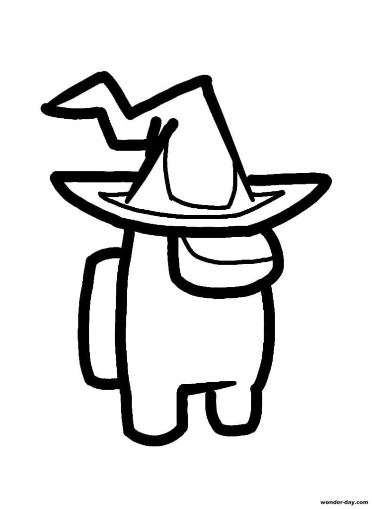 Among Us Coloring Pages Print For Free 100 Coloring Pages Download among us character with cowboy hat png free hd and use it as you like for only personal use. among us coloring pages print for free