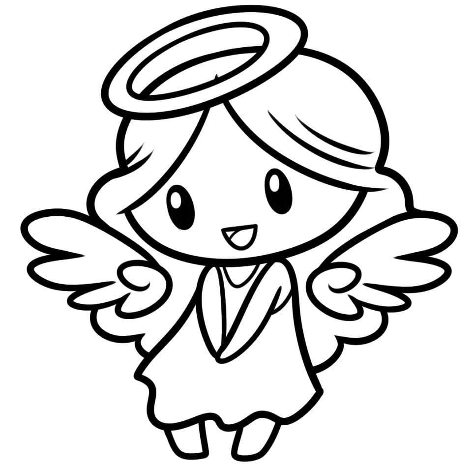 Engel Ausmalbilder. 8 Kostenlose Malvorlagen  WONDER DAY