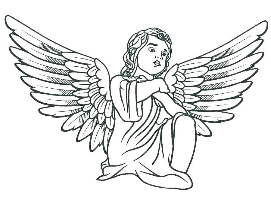 37 kostenlose ausmalbilder malvorlagen engel fuer