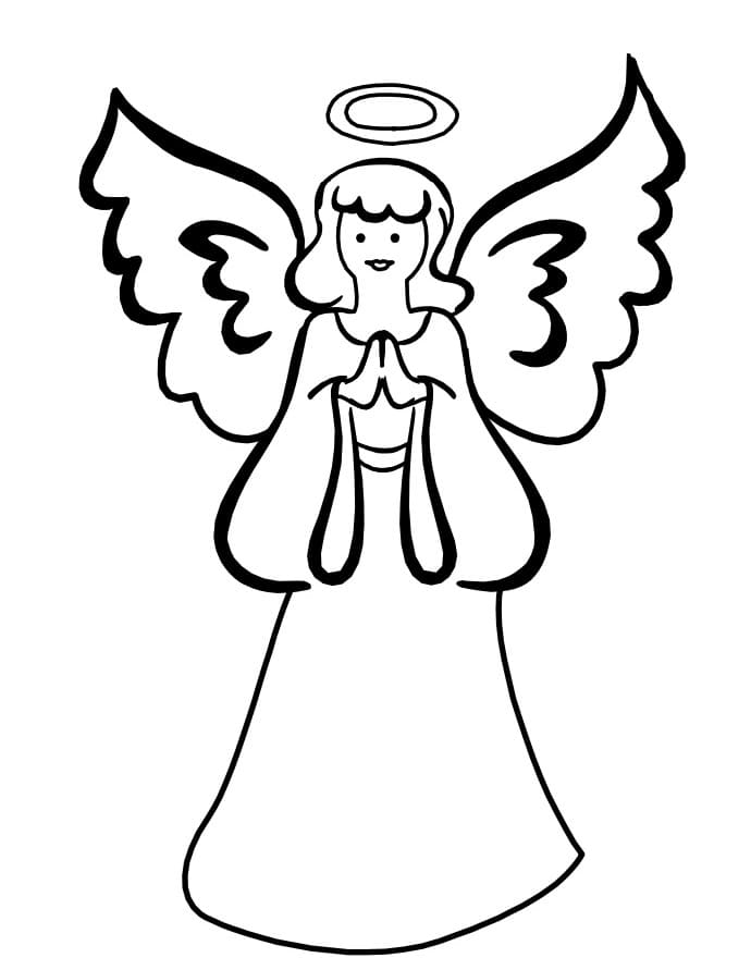 Engel Ausmalbilder 100 Kostenlose Malvorlagen Wonder Day