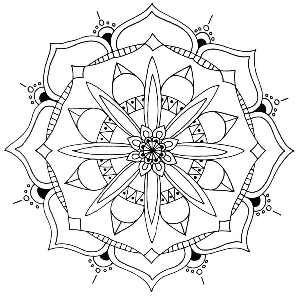 Mandala Ausmalbilder. Die 28 besten Bilder zum ausdrucken