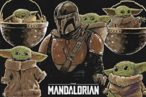 Mandalorian coloring pages. Download and print for free