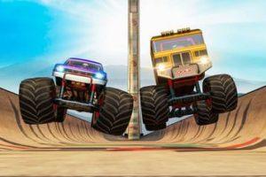 Monster Truck Ausmalbilder. Kostenlose Malvorlagen für Kinder