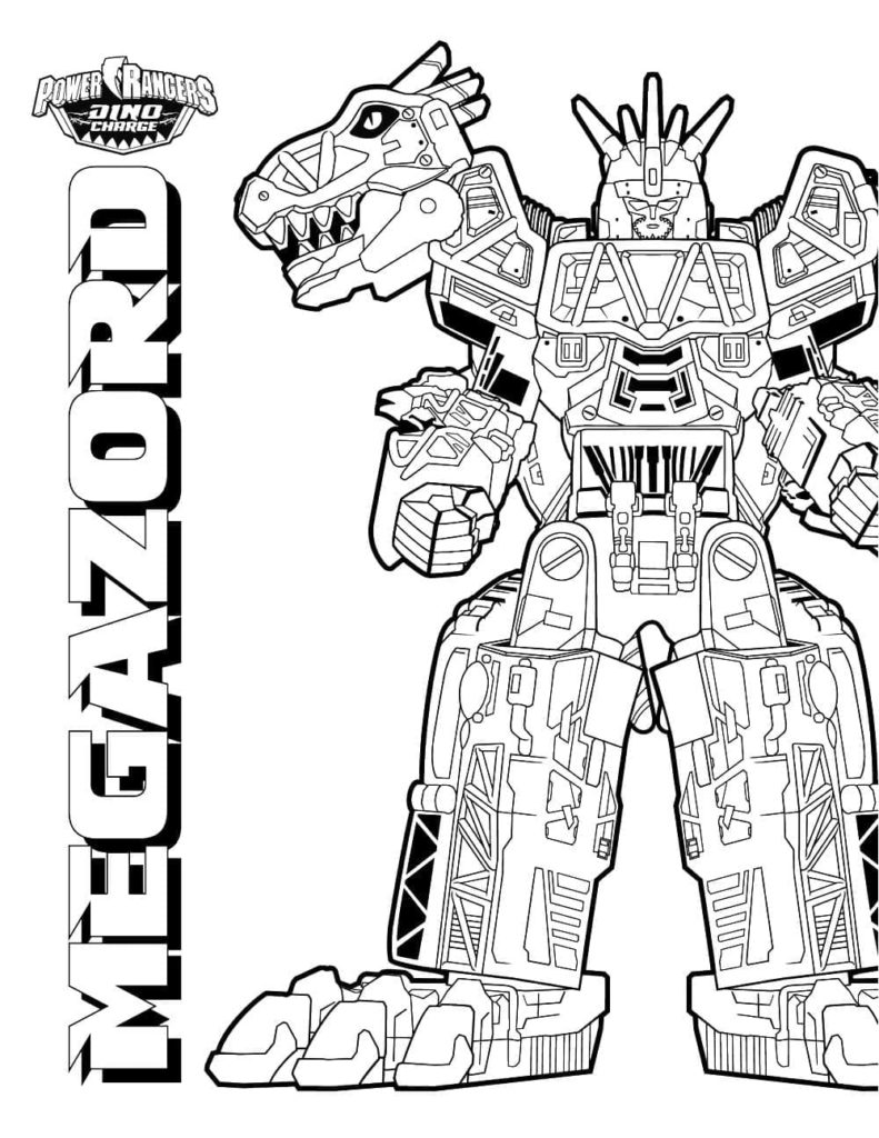 Power Rangers coloring pages. 18 Free printable coloring pages