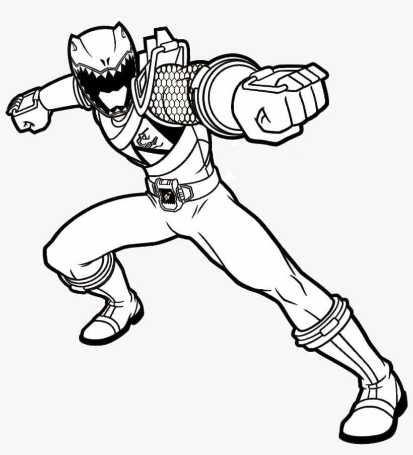 - Power Rangers Coloring Pages. 100 Free Printable Coloring Pages