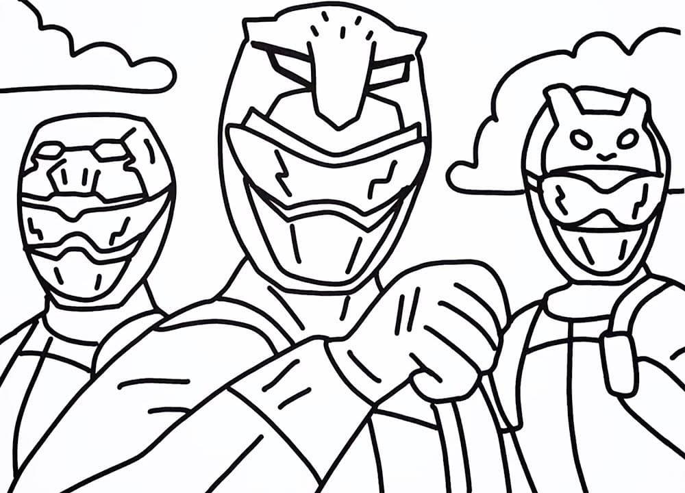 Coloriages Power Rangers A Imprimer Gratuit Wonder Day