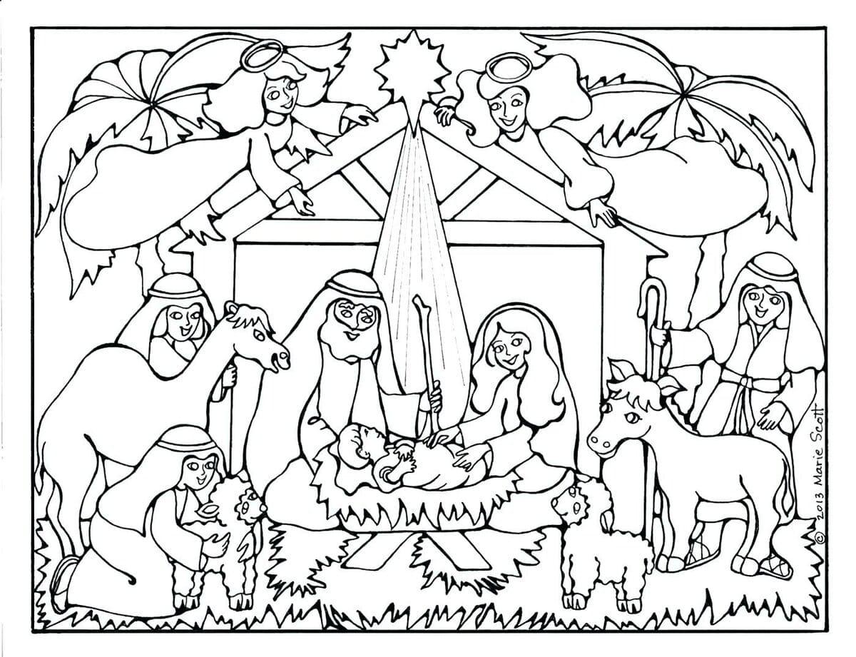 ausmalbilder zu weihnachten zum kostenlosen ausdrucken