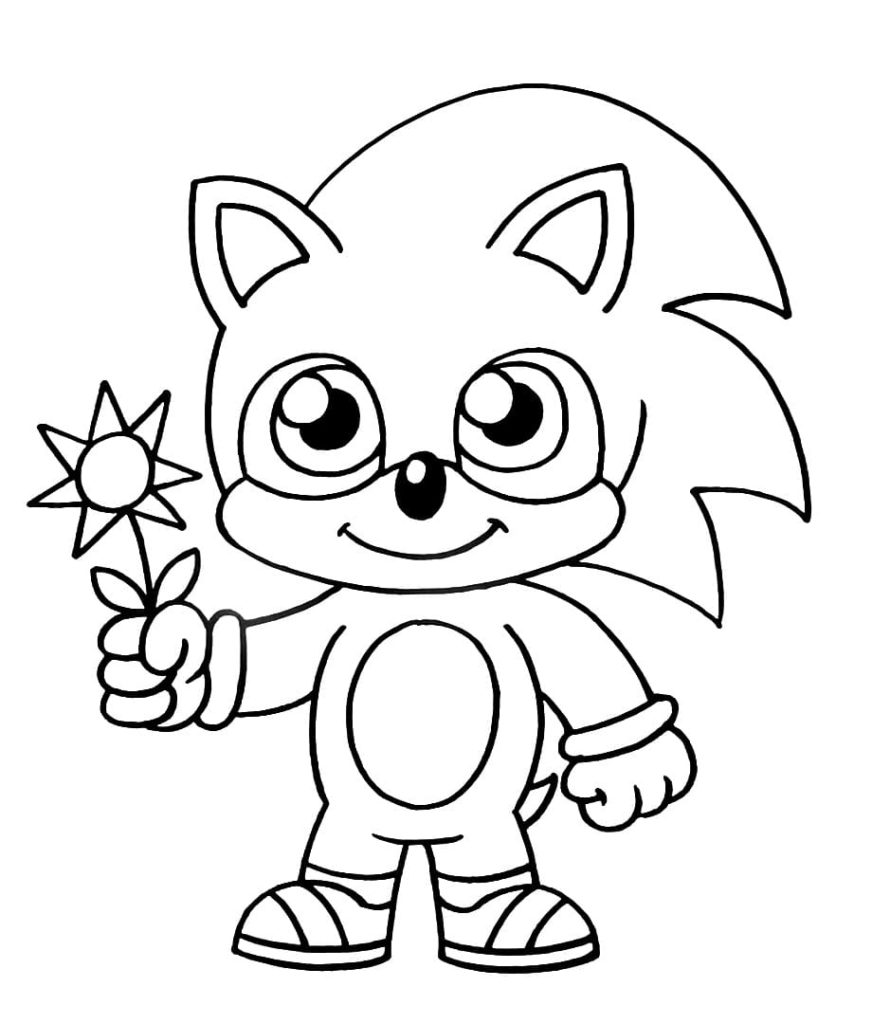 Sonic The Hedgehog Coloring Pages 120 Pieces Print For Free