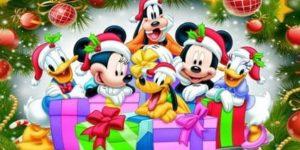 Coloriages de Noël à imprimer sur Wonder-day.com