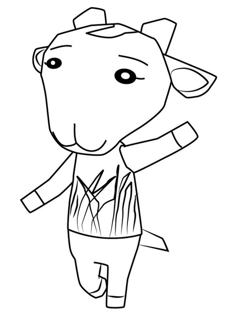 Animal Crossing Coloring Pages. 90 Printable Coloring Pages