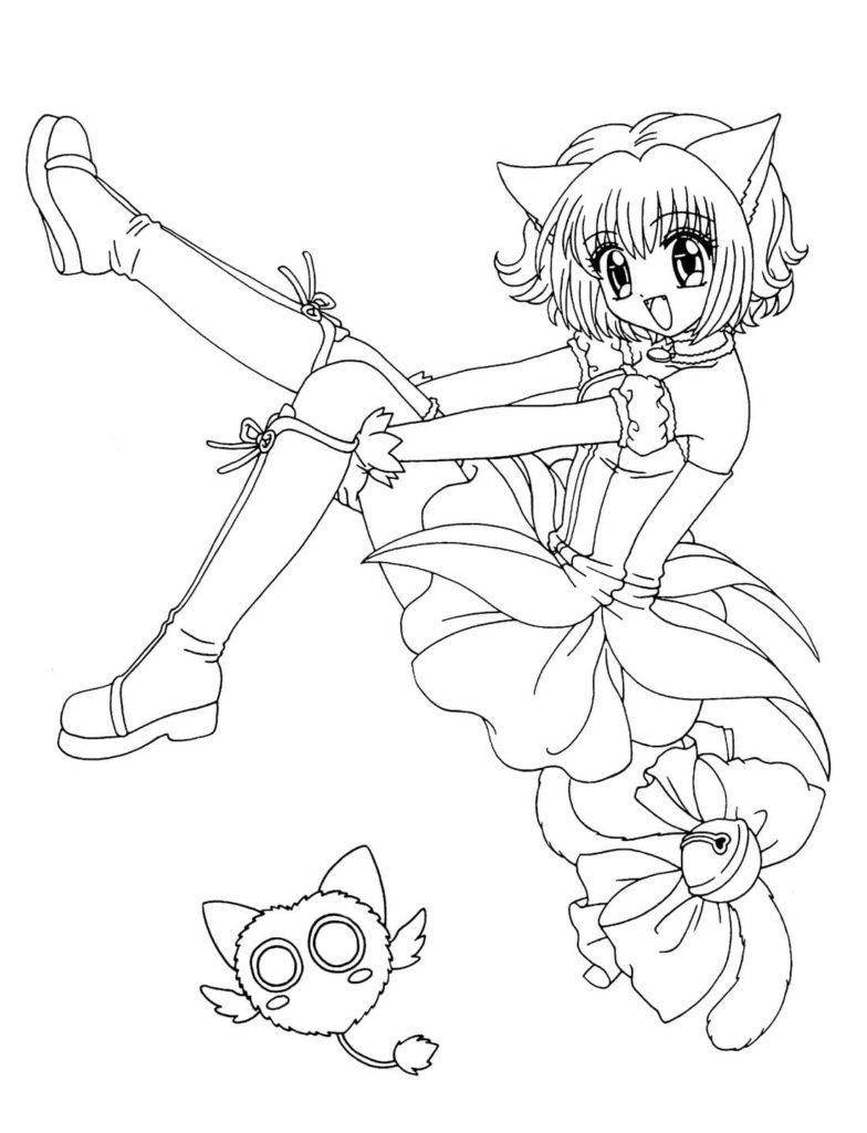 anime ausmalbilder ausdrucken kostenlos  anime