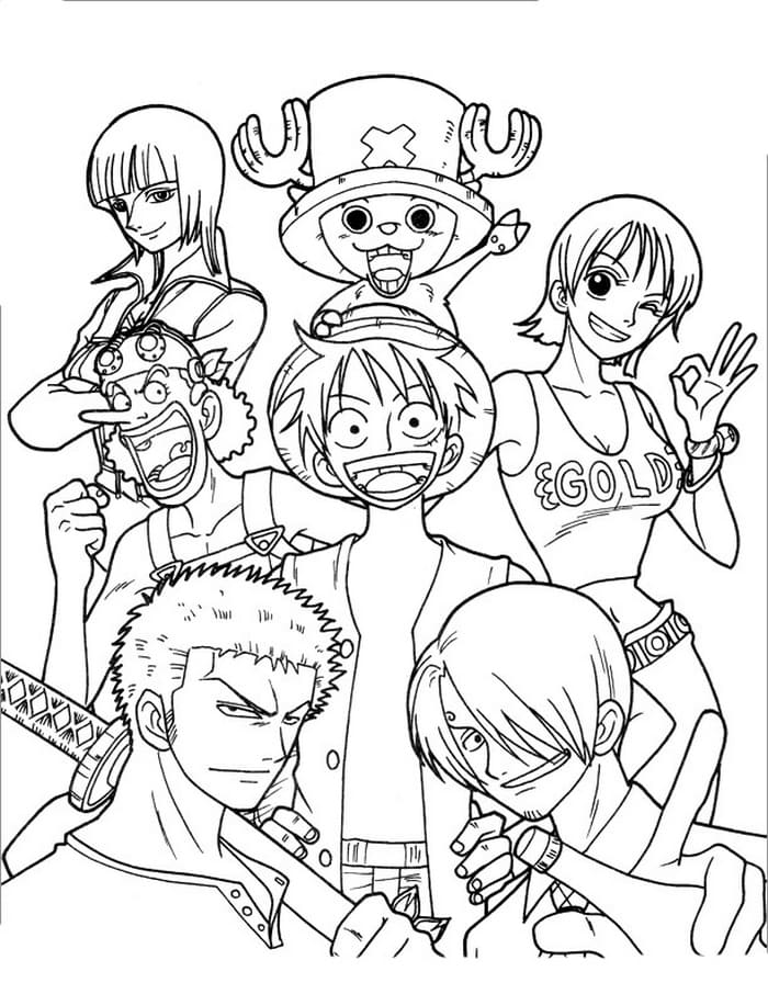 Anime Coloring Pages Print For Free Wonder Day