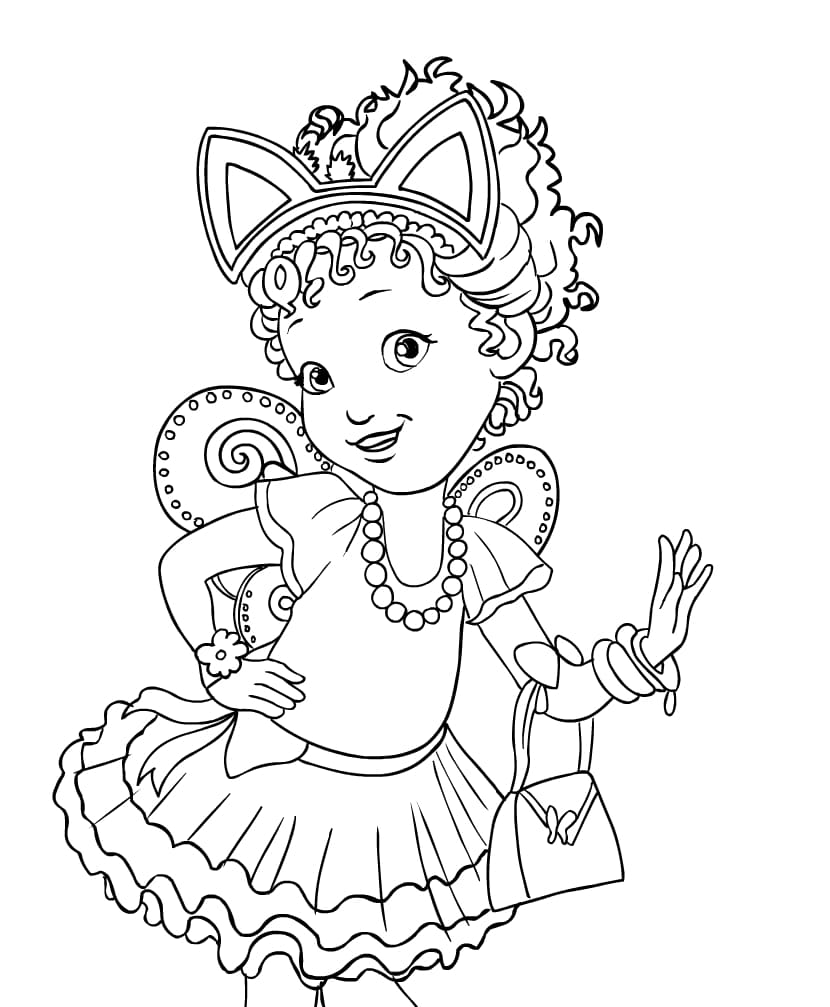 Fancy Nancy Coloring Pages. Best coloring pages for Girls