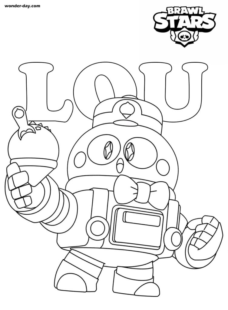 Coloriages Lou Brawl Stars